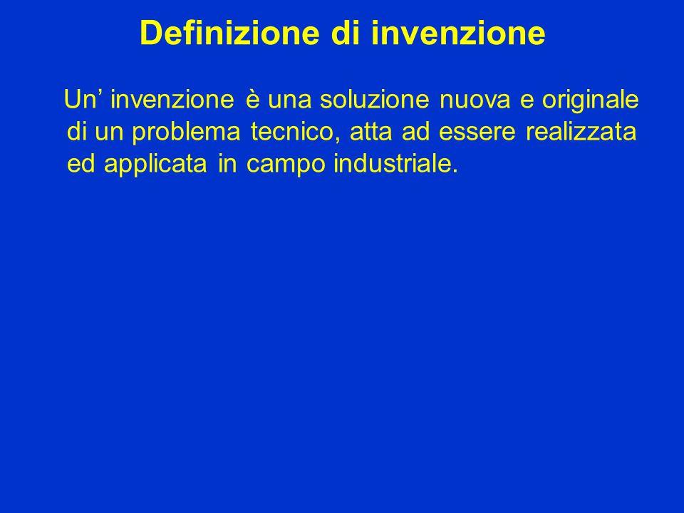 Definizione di invenzione