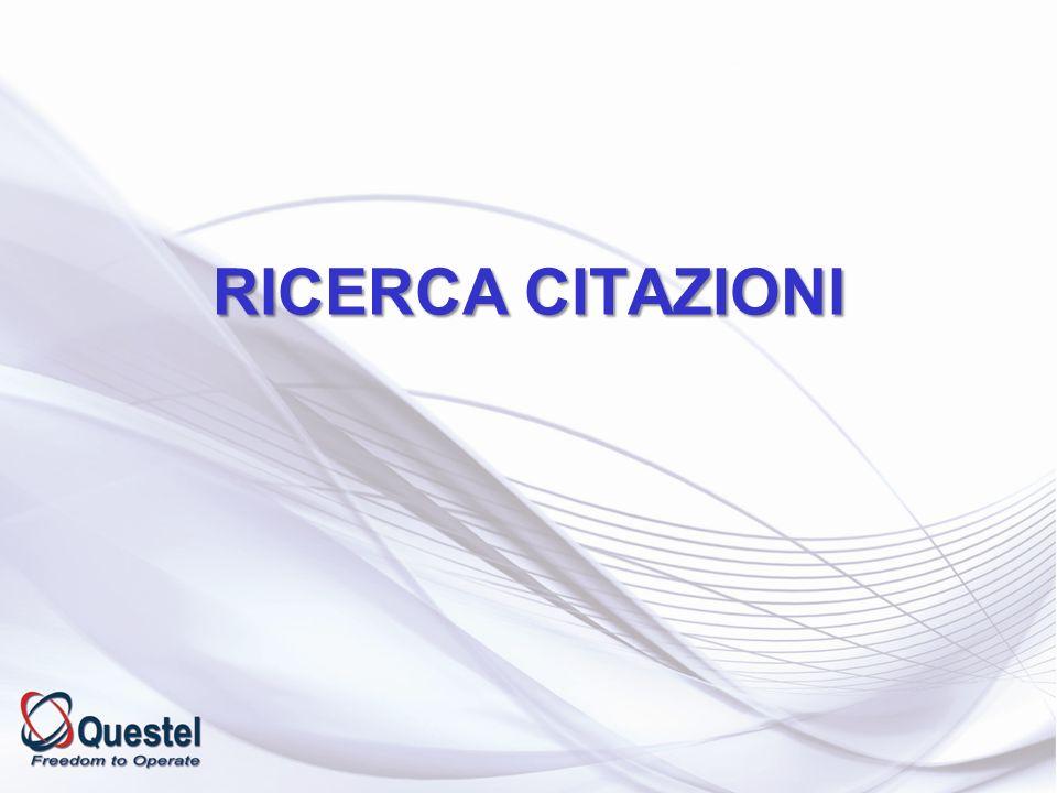 RICERCA CITAZIONI