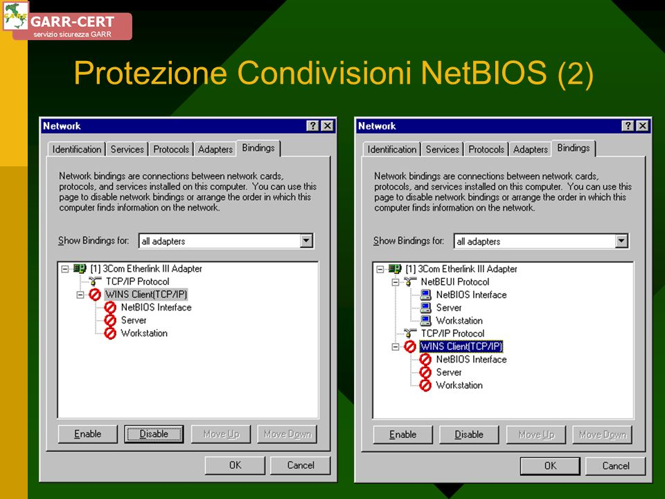 Protezione Condivisioni NetBIOS (2)