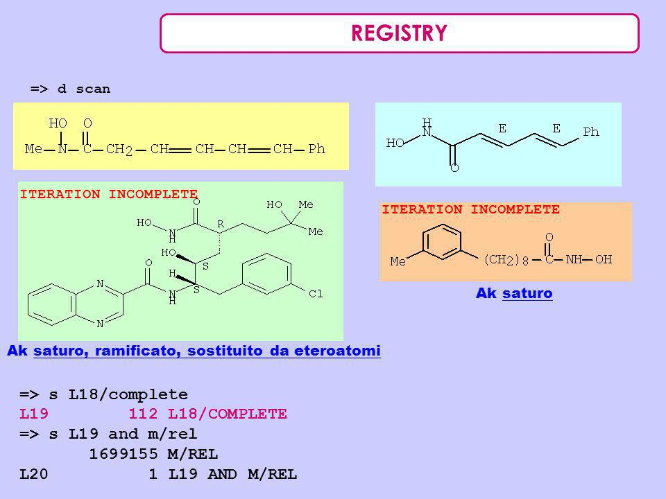 REGISTRY => s L18/complete L19 112 L18/COMPLETE