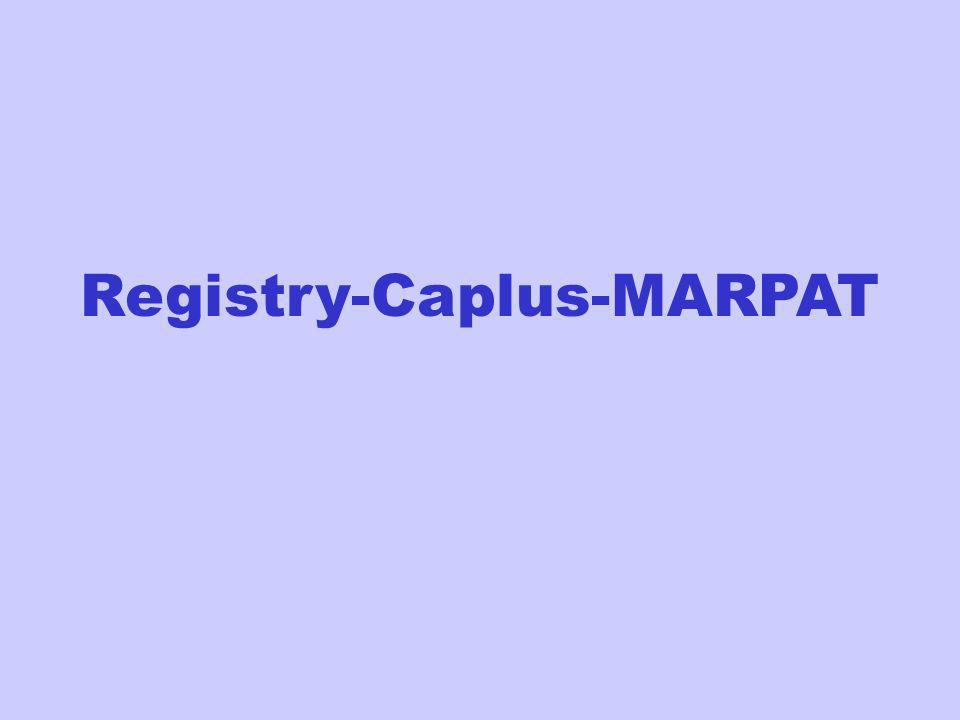 Registry-Caplus-MARPAT