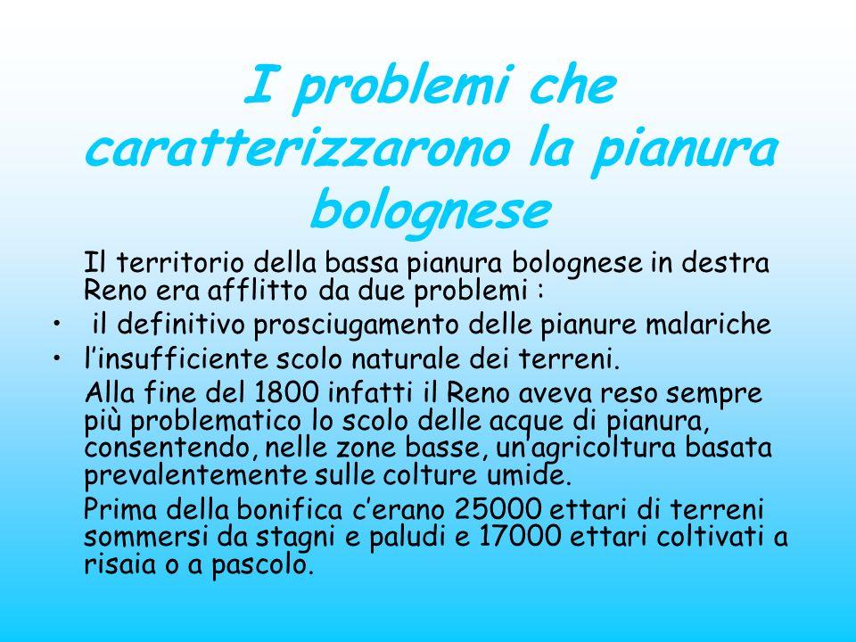 I problemi che caratterizzarono la pianura bolognese