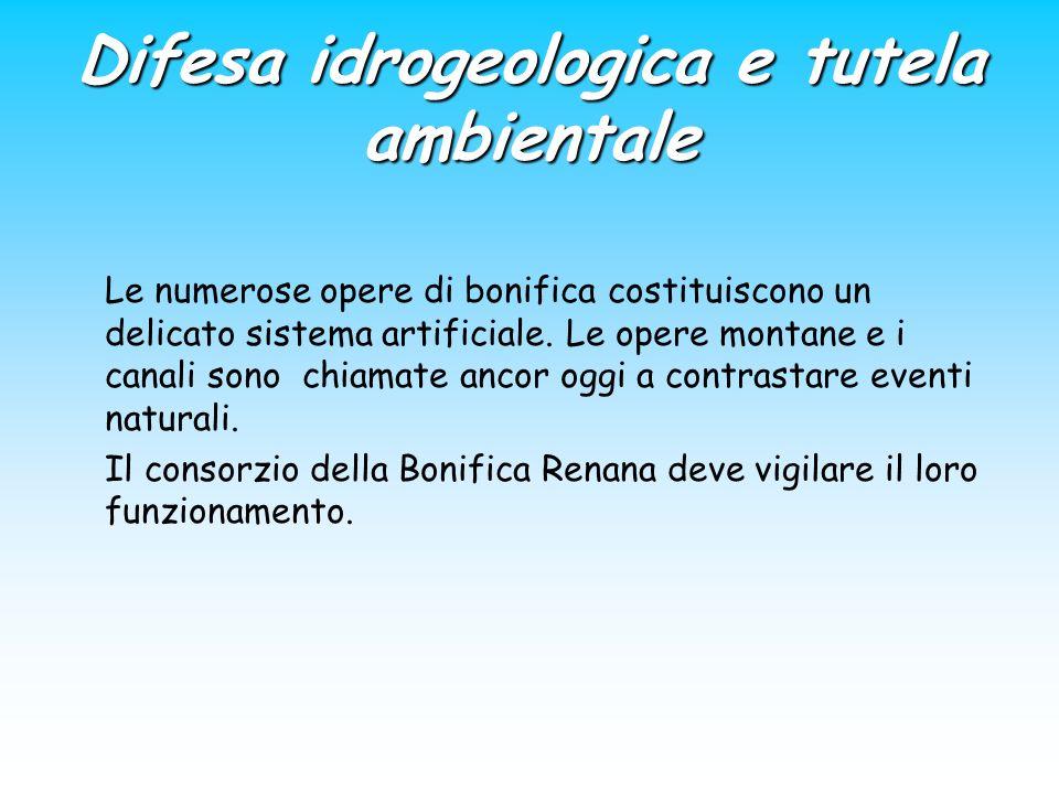 Difesa idrogeologica e tutela ambientale