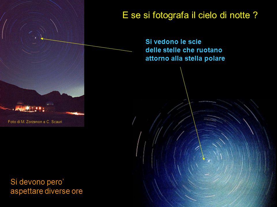 E se si fotografa il cielo di notte
