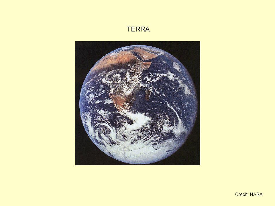 TERRA Credit: NASA