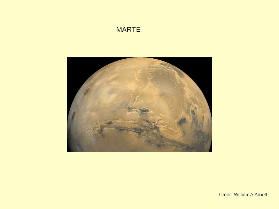 MARTE Credit: William A.Arnett