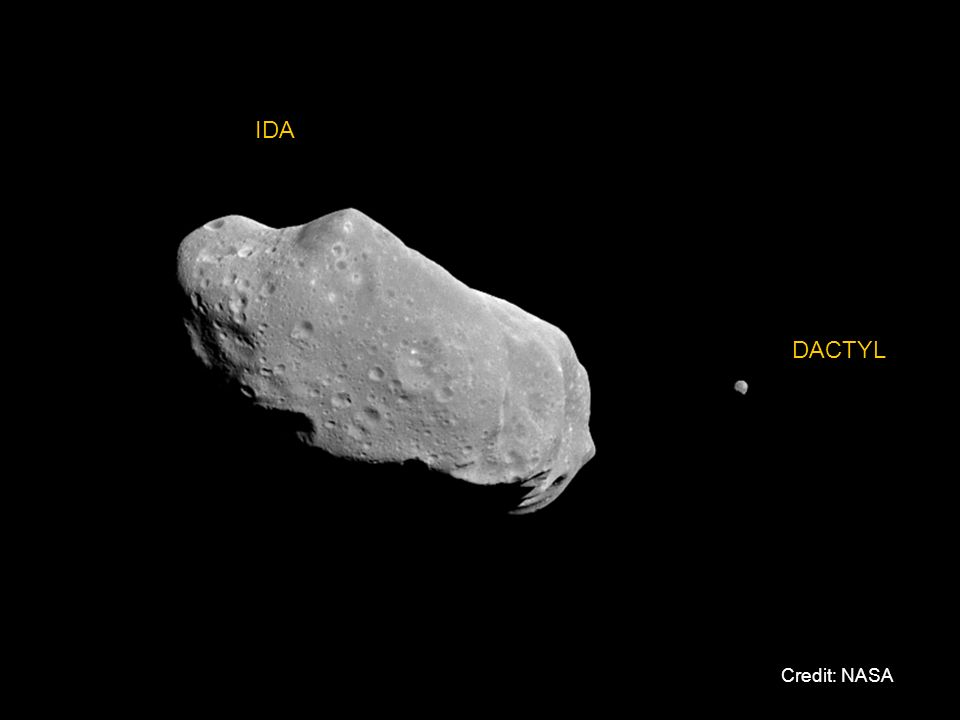 IDA DACTYL Credit: NASA