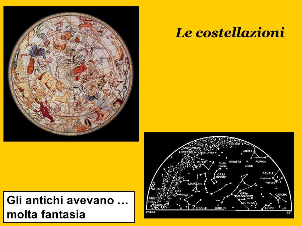 Le costellazioni Gli antichi avevano … molta fantasia