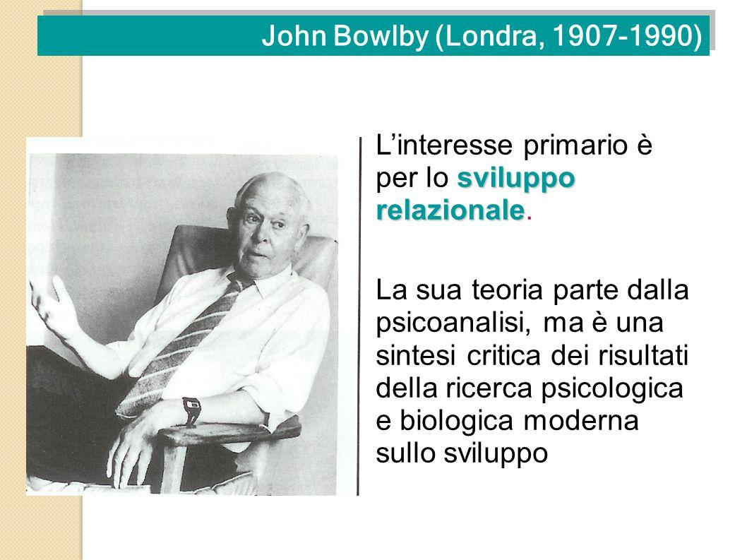 John Bowlby (Londra, 1907-1990)