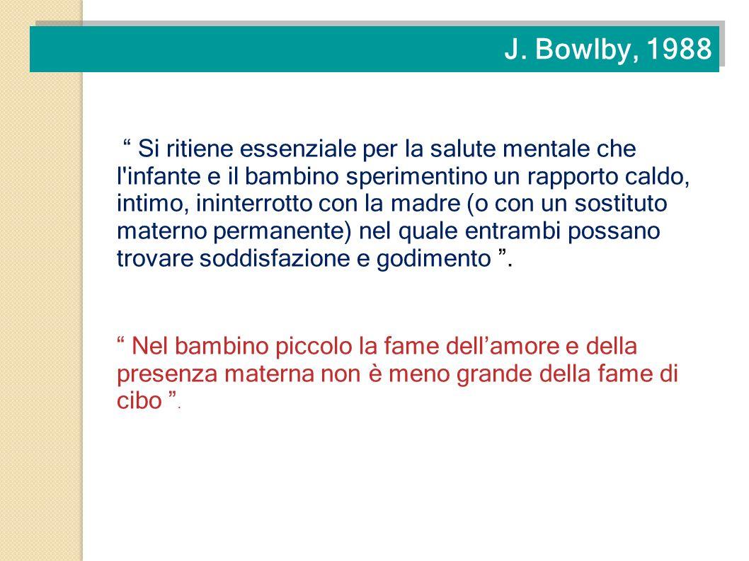J. Bowlby, 1988
