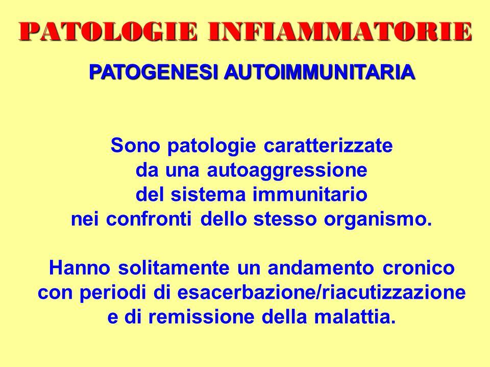 PATOLOGIE INFIAMMATORIE