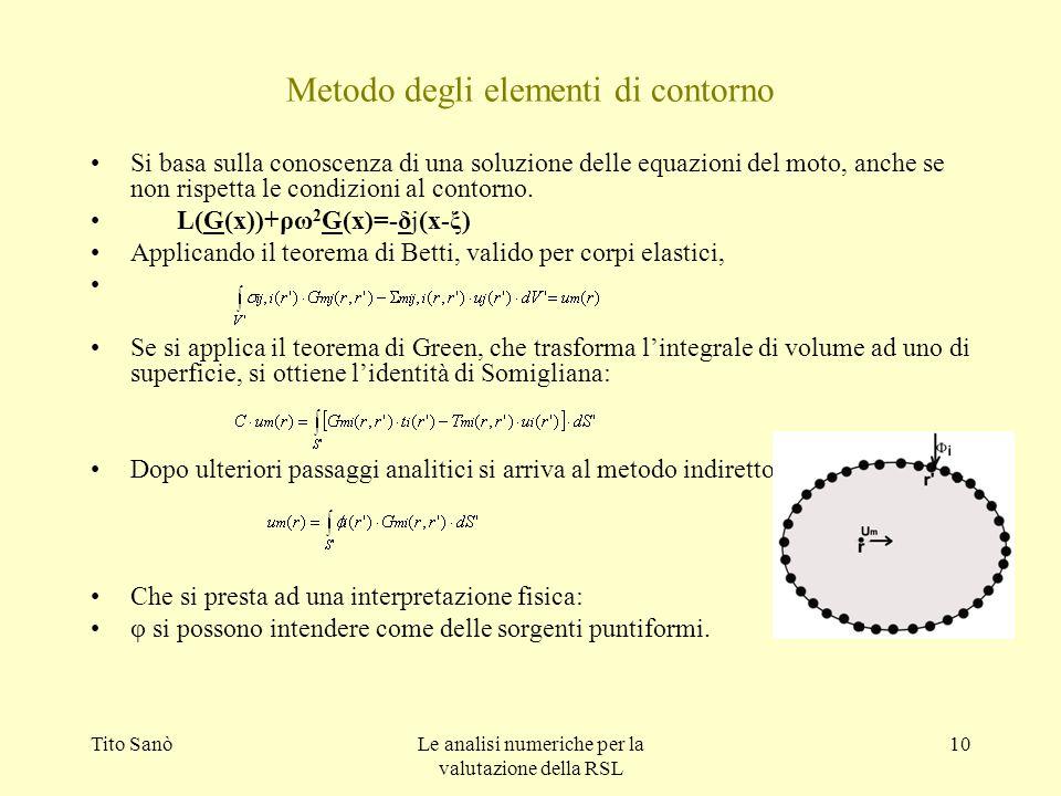 Metodo degli elementi di contorno