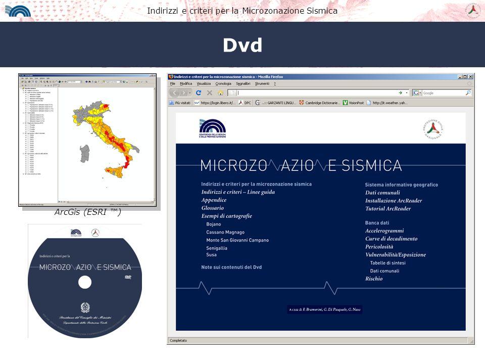Indirizzi e criteri per la Microzonazione Sismica