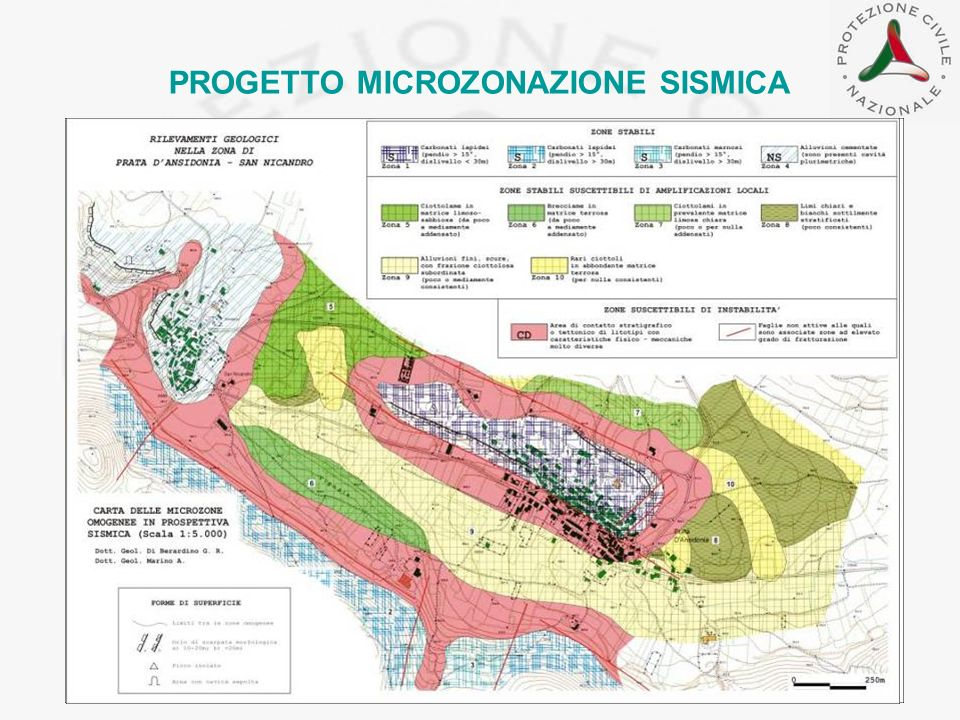 PROGETTO MICROZONAZIONE SISMICA