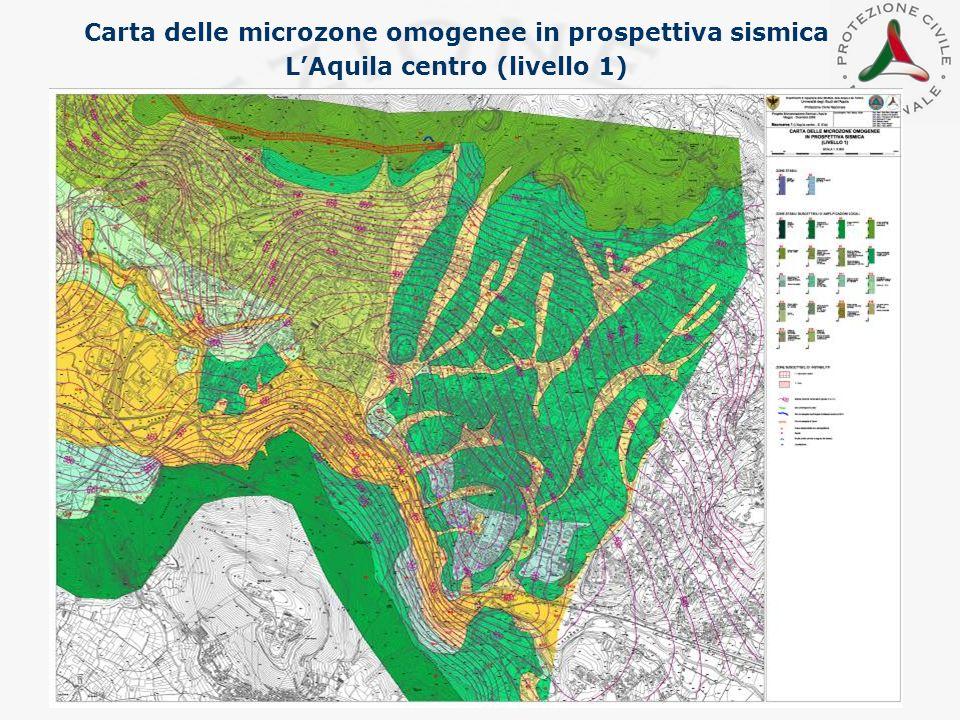 Carta delle microzone omogenee in prospettiva sismica