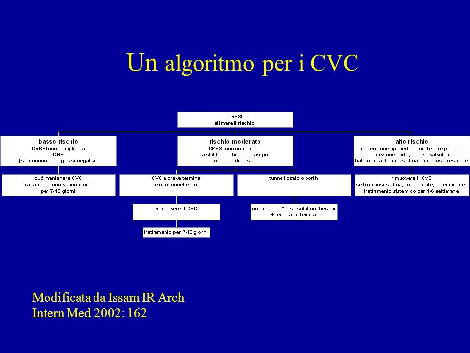 Un Un algoritmo per i CVC
