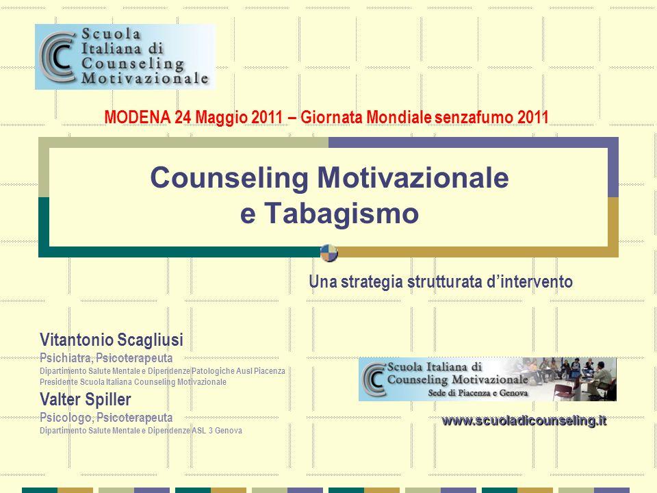 Counseling Motivazionale e Tabagismo