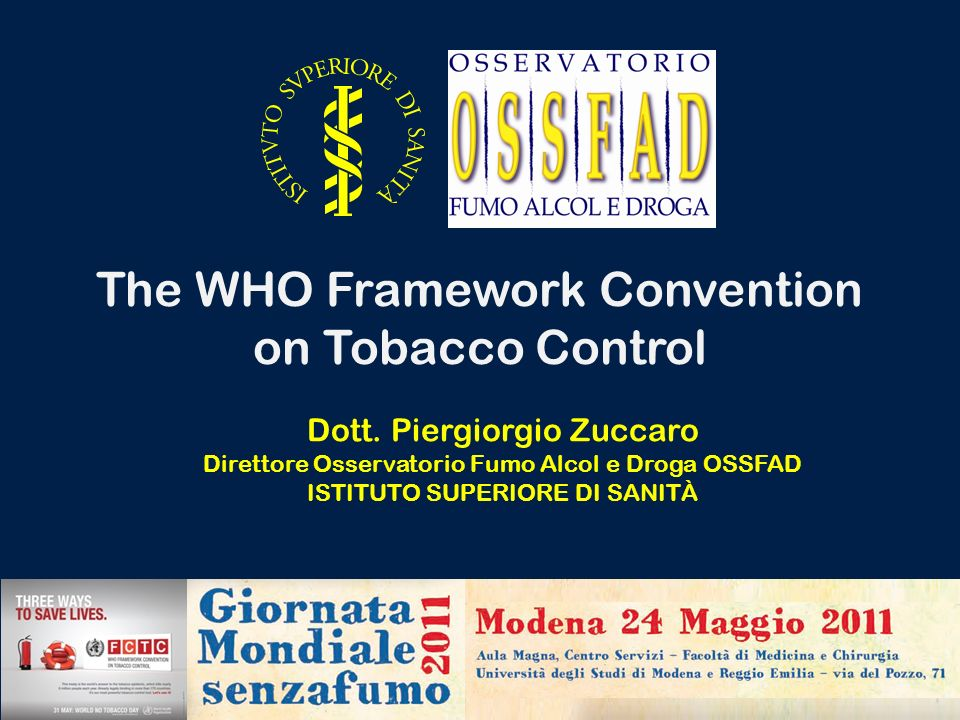 The WHO Framework Convention on Tobacco Control