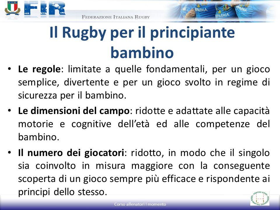 Il Rugby per il principiante bambino