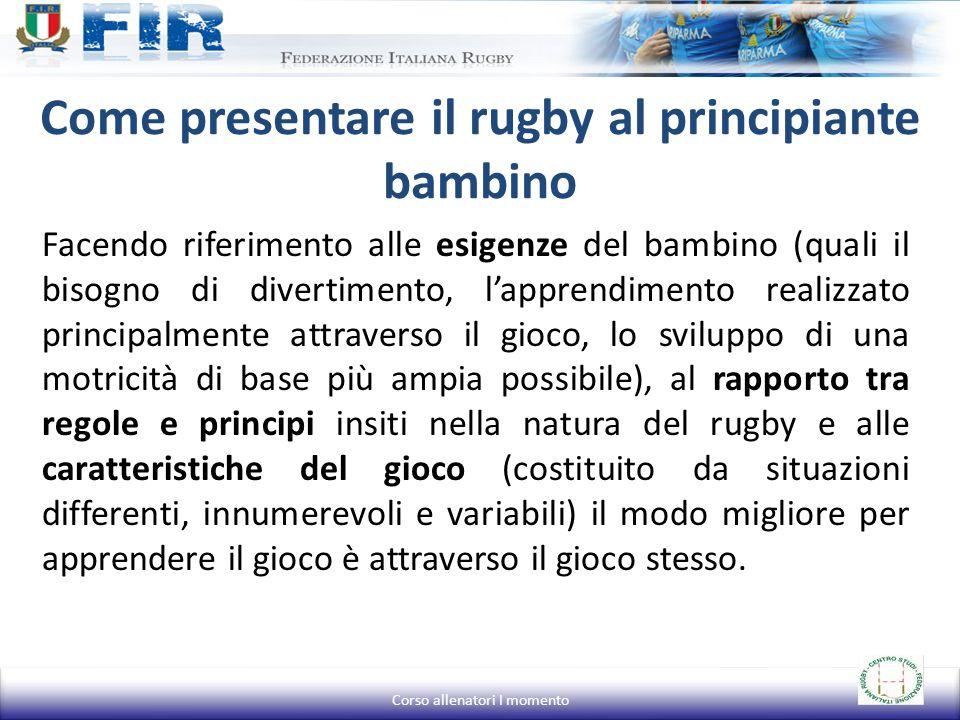 Come presentare il rugby al principiante bambino