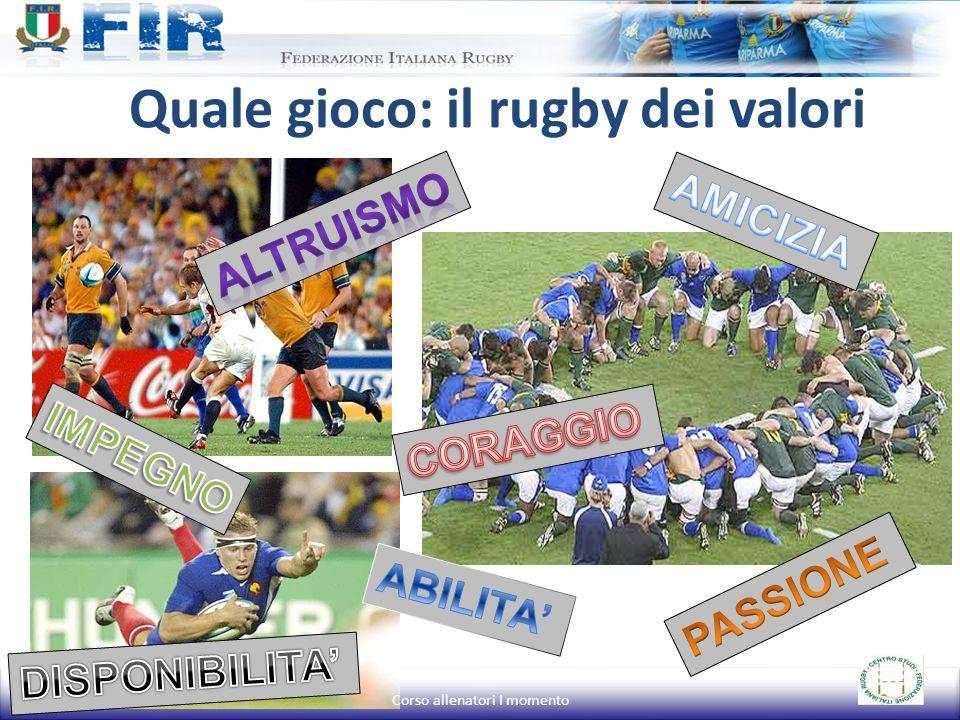 Quale gioco: il rugby dei valori