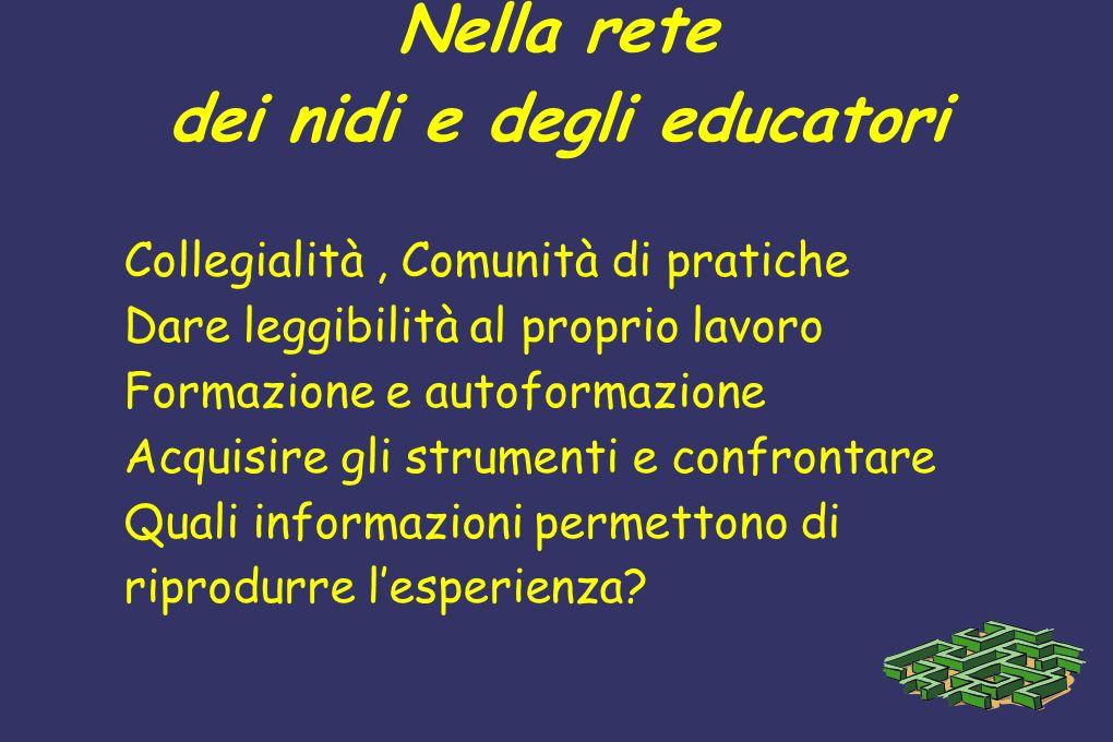Nella rete dei nidi e degli educatori