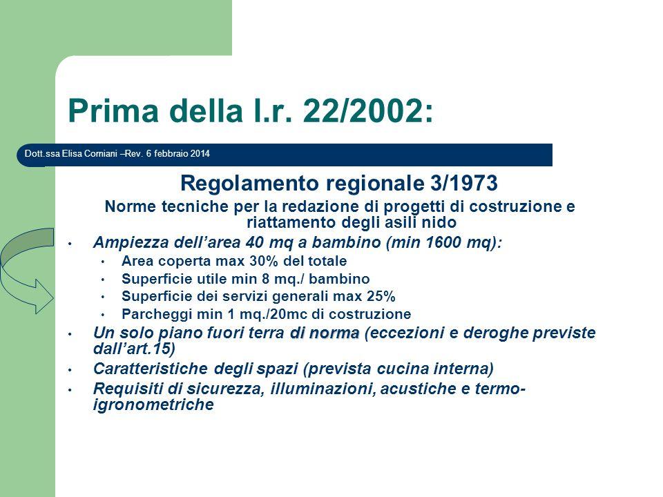 Regolamento regionale 3/1973