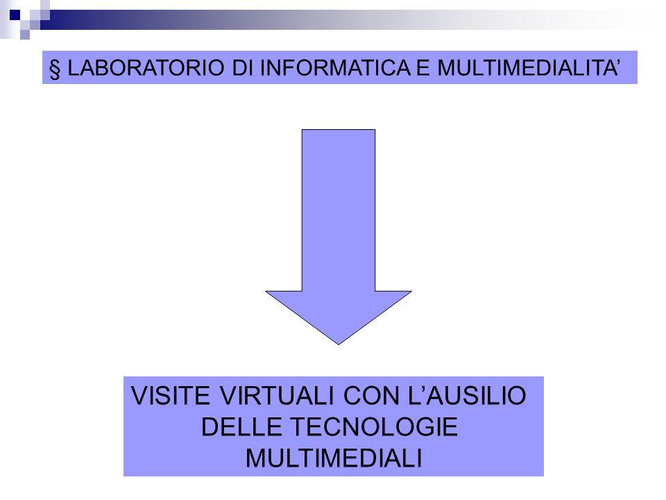 VISITE VIRTUALI CON L'AUSILIO