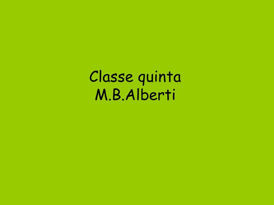 Classe quinta M.B.Alberti