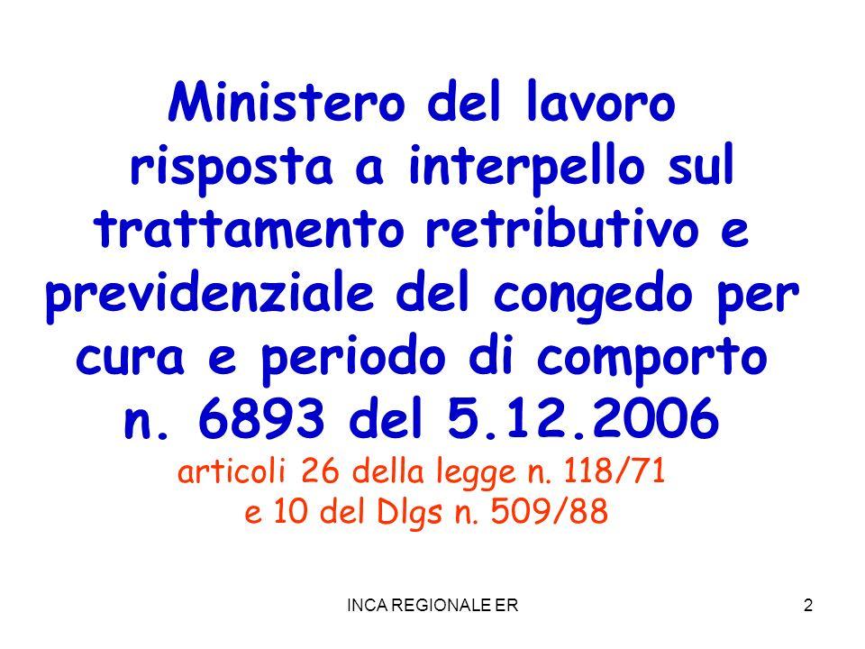 articoli 26 della legge n. 118/71