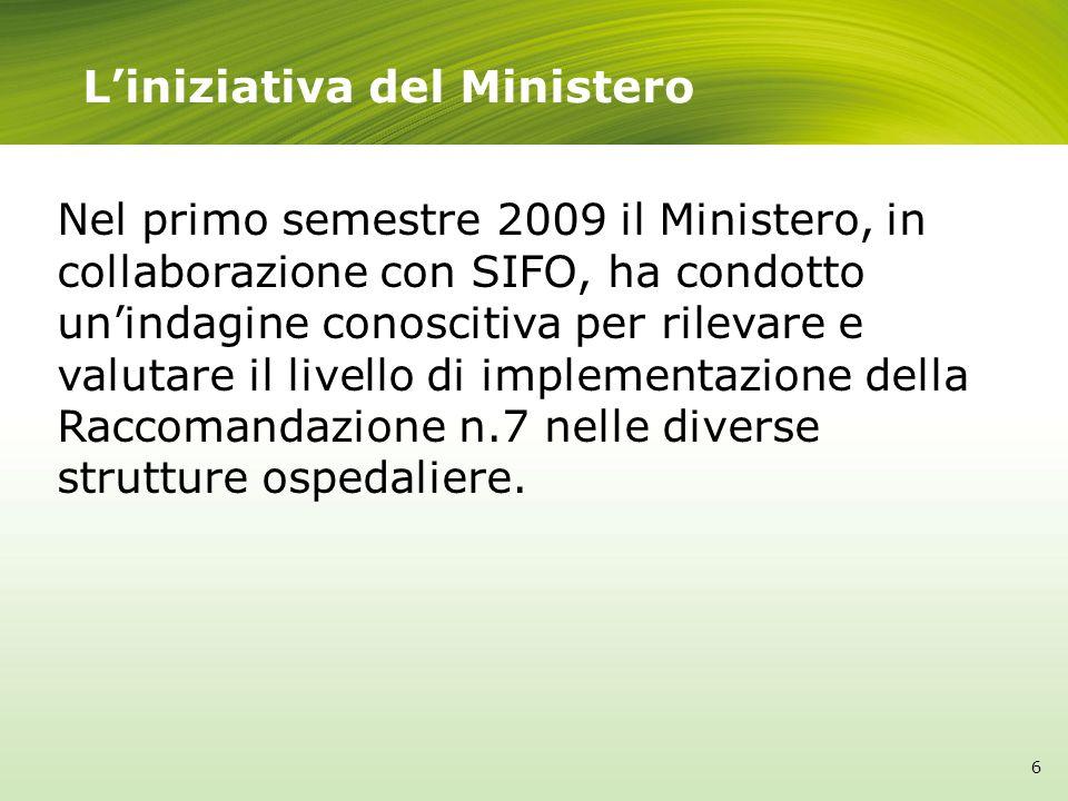 L'iniziativa del Ministero