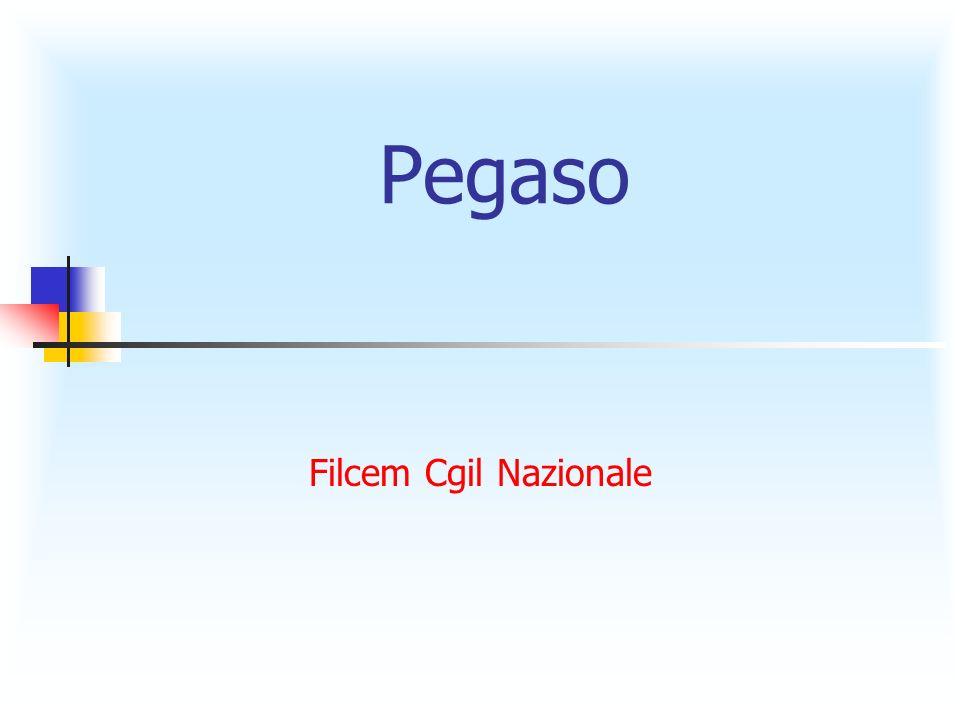 Pegaso Filcem Cgil Nazionale