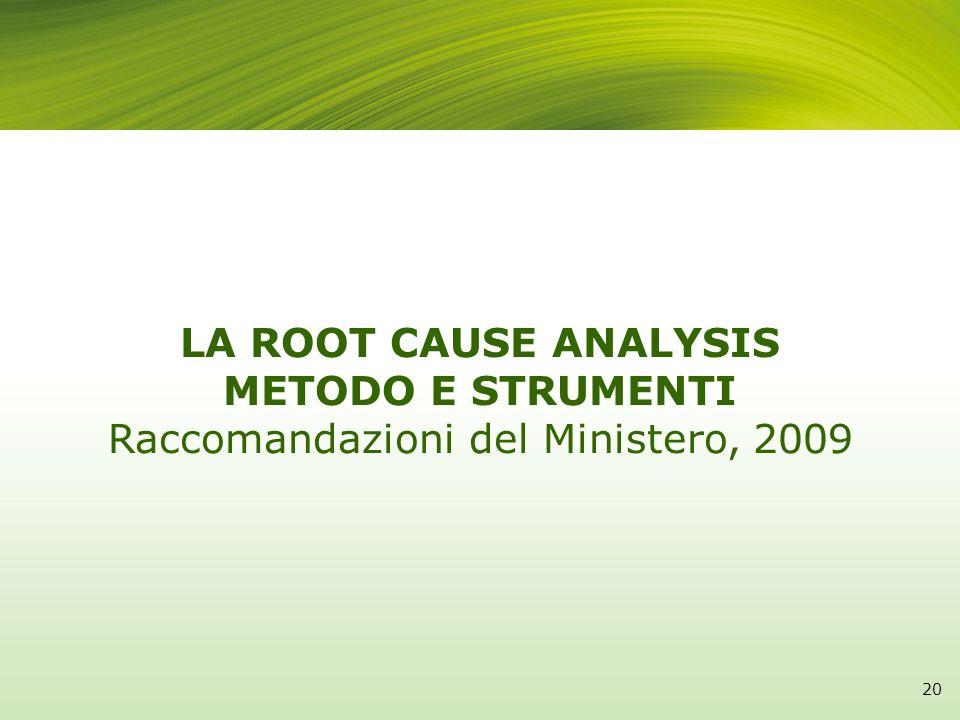 Raccomandazioni del Ministero, 2009
