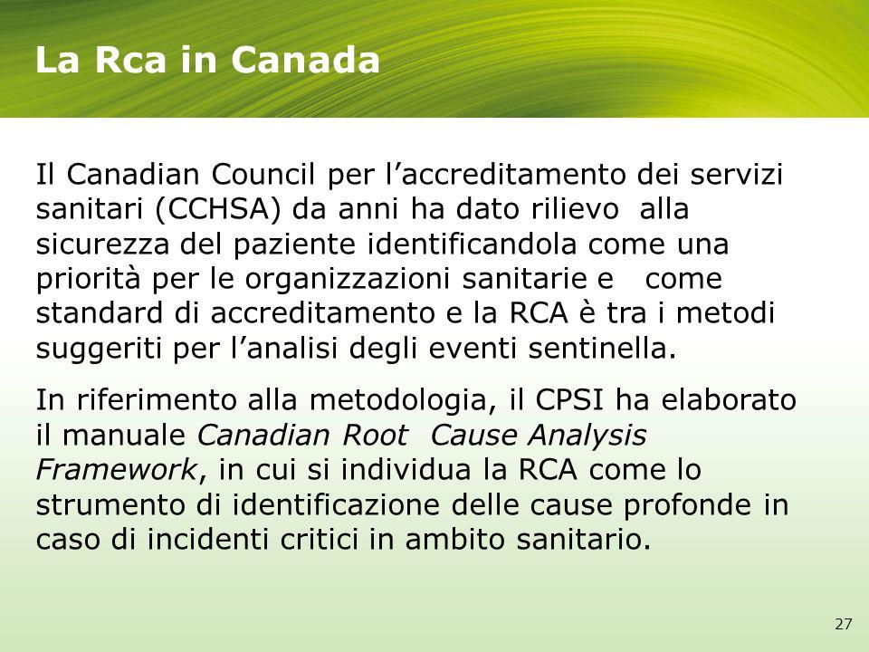 La Rca in Canada