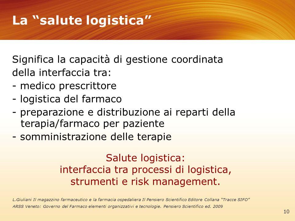 La salute logistica