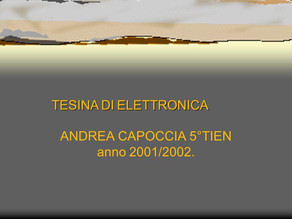 ANDREA CAPOCCIA 5°TIEN anno 2001/2002.