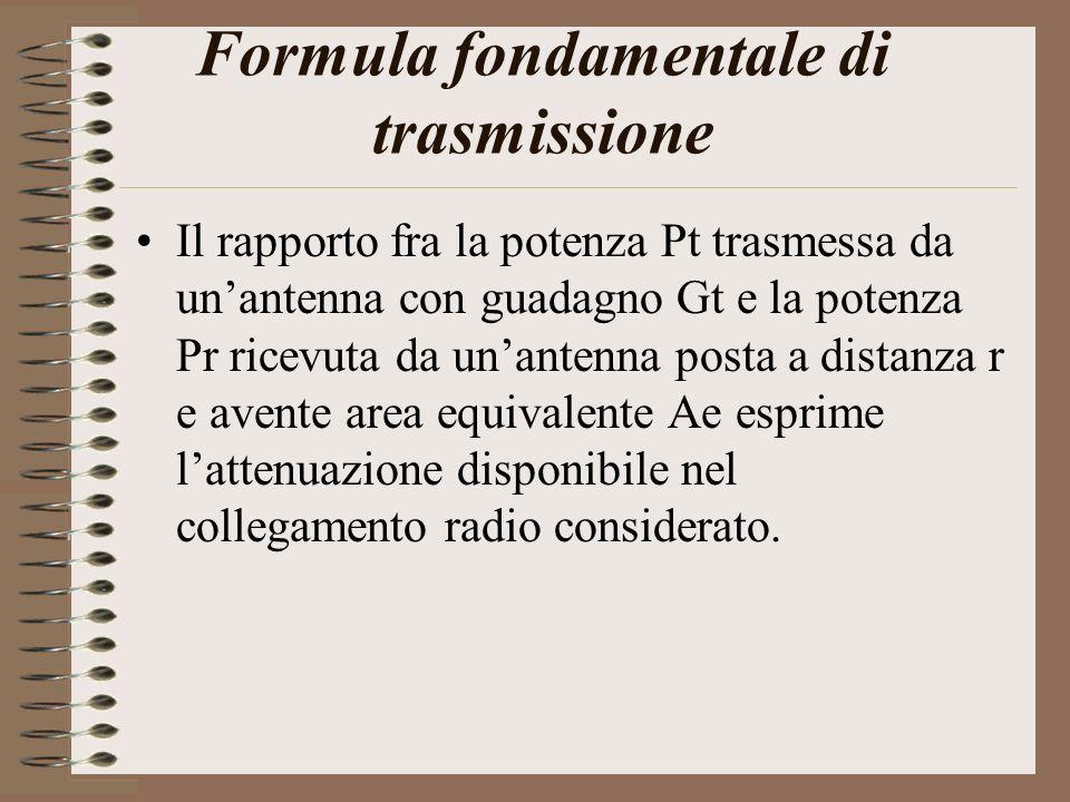 Formula fondamentale di trasmissione