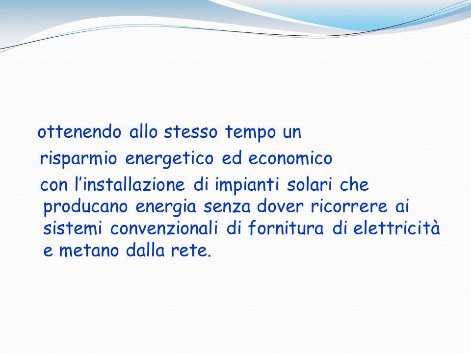 risparmio energetico ed economico