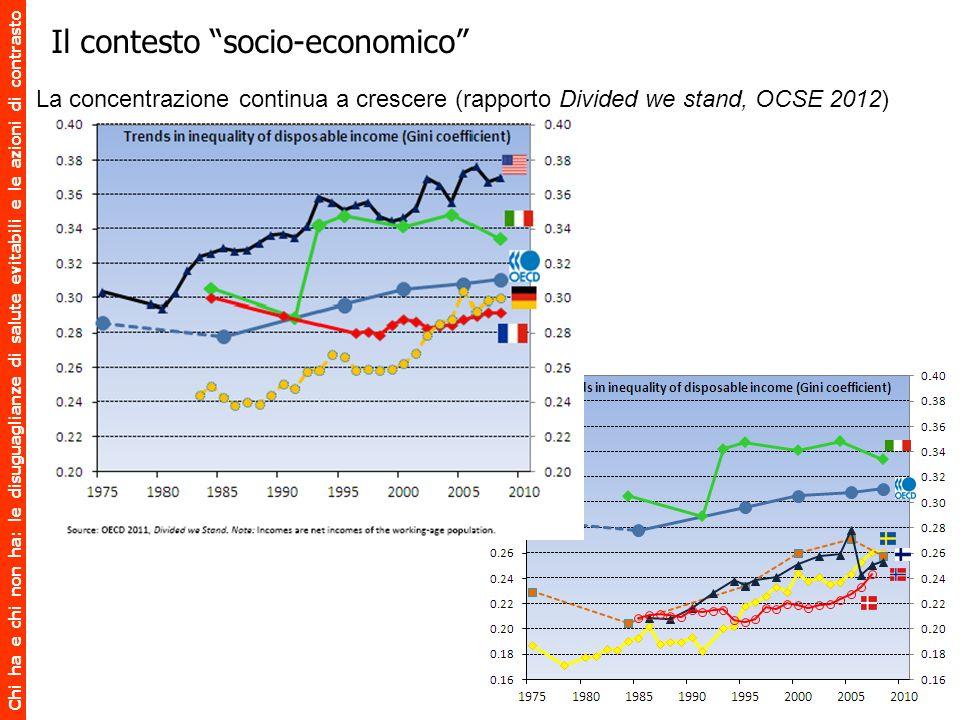 Il contesto socio-economico