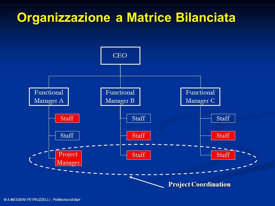 Organizzazione a Matrice Bilanciata