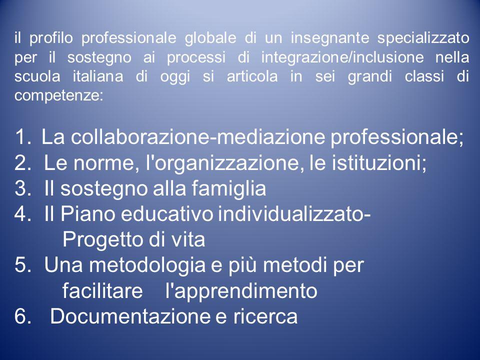 La collaborazione-mediazione professionale;