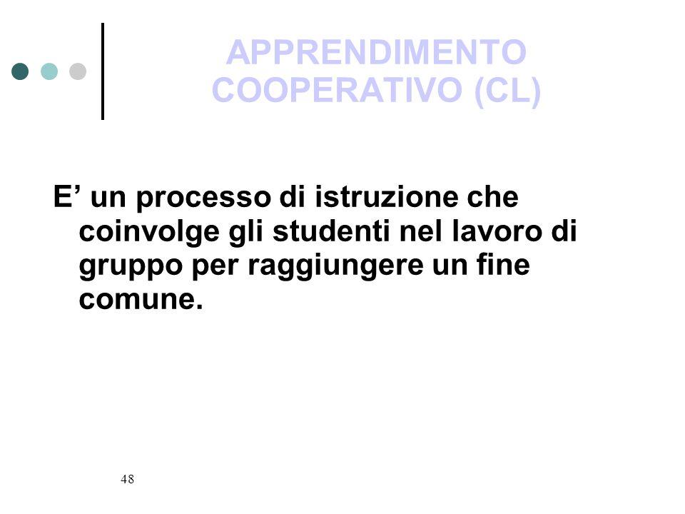 APPRENDIMENTO COOPERATIVO (CL)