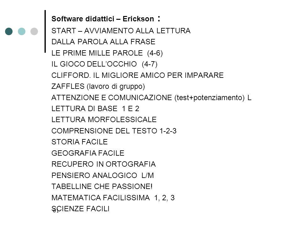 Software didattici – Erickson :