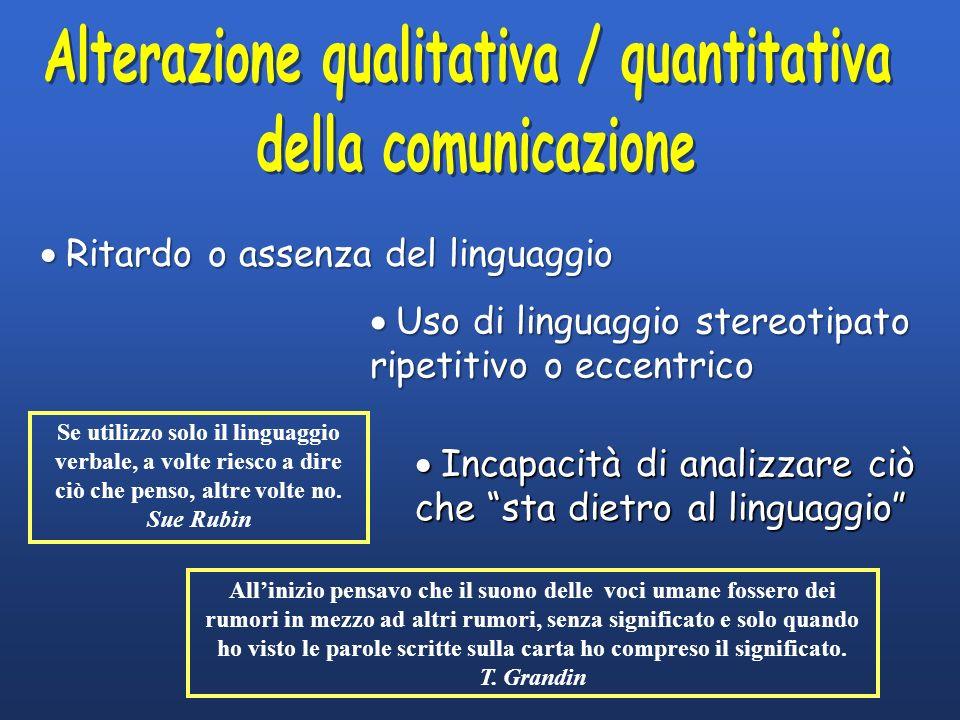 Alterazione qualitativa / quantitativa