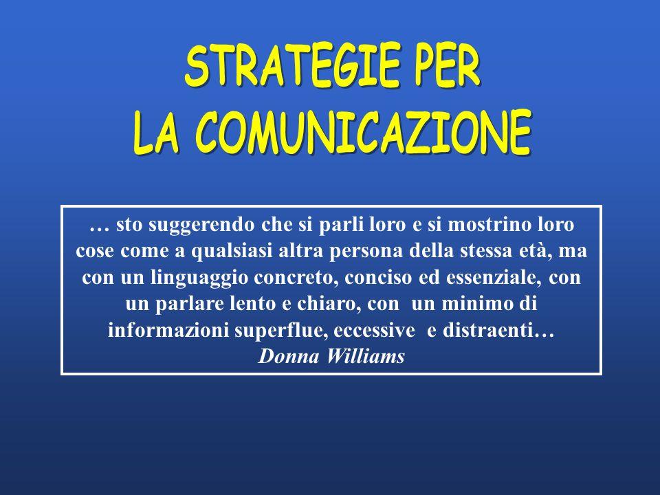 STRATEGIE PER LA COMUNICAZIONE