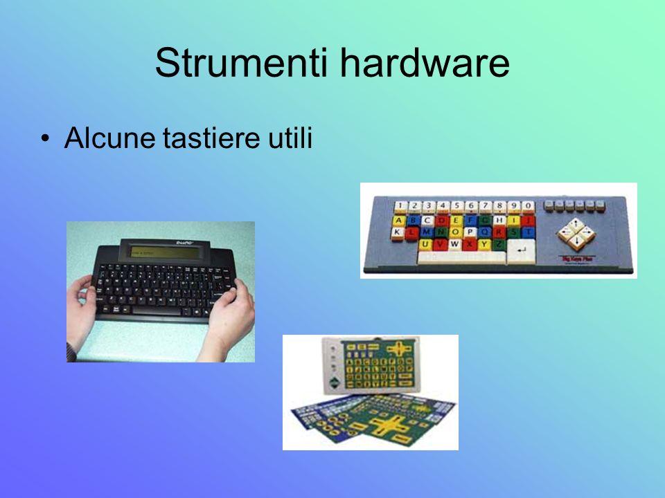 Strumenti hardware Alcune tastiere utili