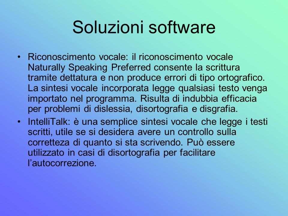Soluzioni software