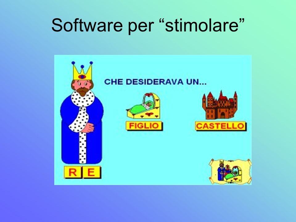 Software per stimolare