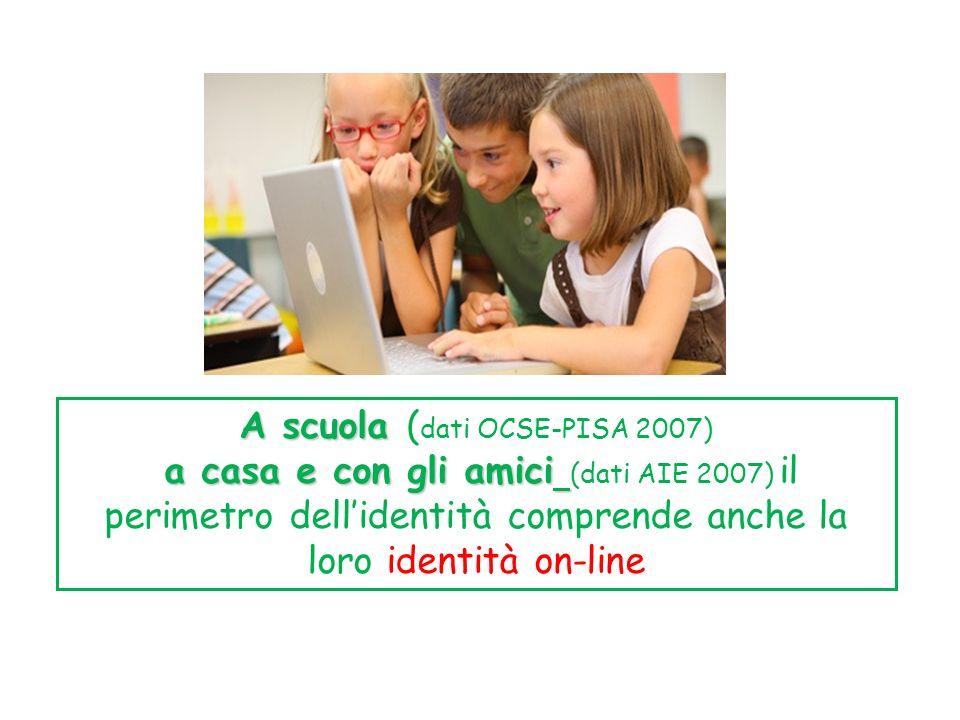 A scuola (dati OCSE-PISA 2007)