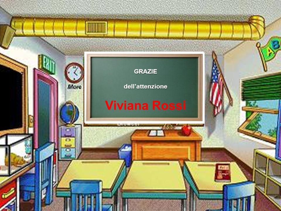 GRAZIE dell'attenzione Viviana Rossi